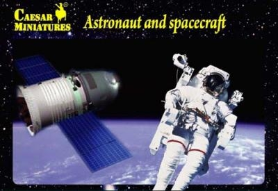 Космонавты и космический аппарат Caesar 21