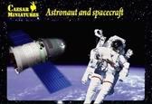 Космонавты и космический аппарат