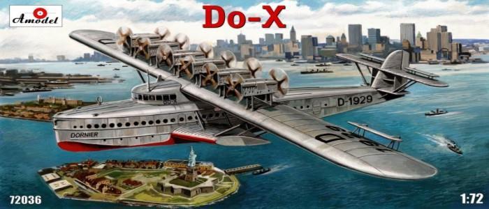 Летающая лодка Dornier Do-X Amodel 72036