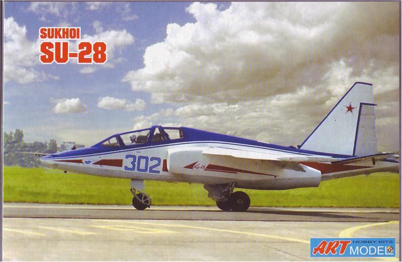 Учебно-тренировочный самолет Sukhoi Su-28 Art Model 7211