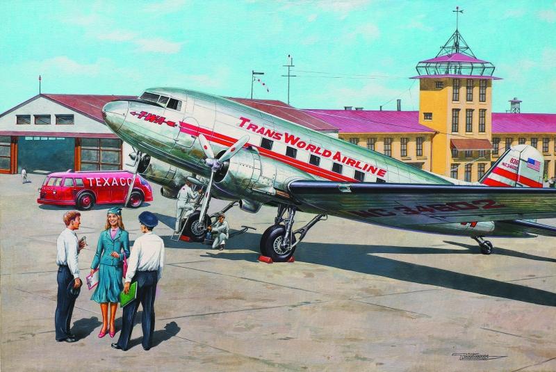 Самолет Douglas DC-3 Roden 309