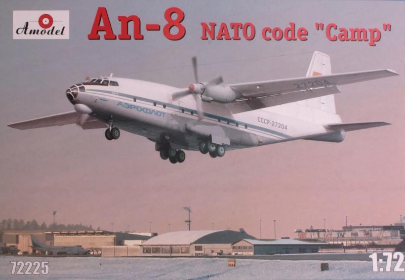 Советский военно-транспортный самолет Антонов Ан-8
