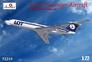 Пассажирский самолет Tupolev Tu-134 LOT airlines Amodel 72249 основная фотография