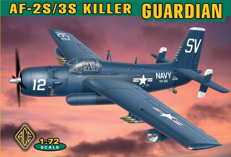 Противолодочная система Grumman AF-2S/3S Ace 72305