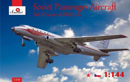 Советский пассажирский самолет Туполев Ту-104 Amodel 1450