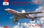 Советский пассажирский самолет Туполев Ту-104 Amodel 1450 основная фотография
