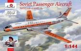 Советский пассажирский самолет Туполев Ту-104 A 2