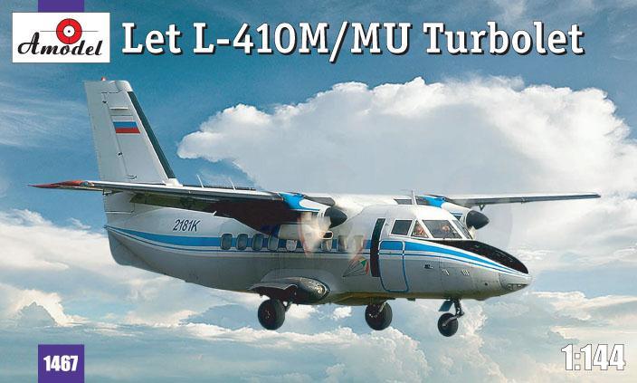 Самолет Let L-410 «Turbolet» Amodel 1467