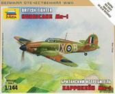 Британский истребитель Hurricane Mk-1