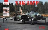 Советский самолет радиоэлектронной борьбы Як-28ПП и книга в комплекте