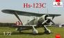 Пикирующий бомбардировщик Henschel Hs 123C Amodel 72248 основная фотография