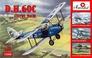 Биплан de Havilland DH.60C Cirrus Moth Amodel 72280 основная фотография