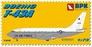 Учебно-тренировочный самолет Boeing T-43A USAF Big Planes kits 7205 основная фотография