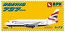 Пассажирский самолет Boeing 737-200 British Airways Big Planes kits 7203 основная фотография