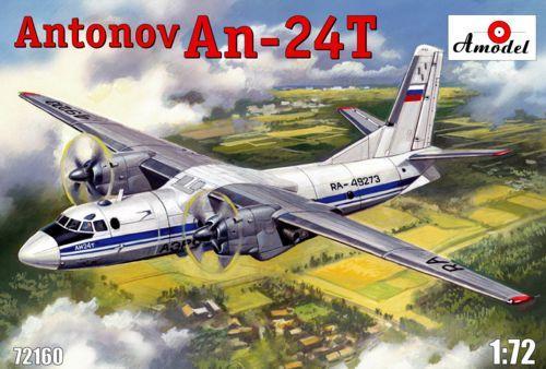 Военно-транспортный самолет Антонов Ан-24T Amodel 72160