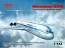 Советский пассажирский самолет Ильюшин-62М ICM 14405 основная фотография