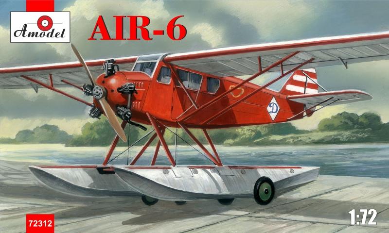 Советский гидросамолет AIR-6 Amodel 72312