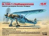 Самолет-разведчик Легиона Кондор Hs 126A-1 с бомбодержателем