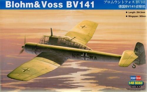 Самолет Blohm & Voss BV-141 Hobby Boss 81728