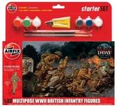 Подарочный набор с набором фигурок британской пехоты от Airfix