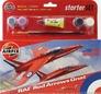 Подарочный набор с моделью самолета Red Arrows Gnat Airfix 55105 основная фотография