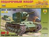 Подарочный набор с моделью танка КВ – 2