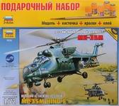 Подарочный набор с моделью вертолета Ми-35м