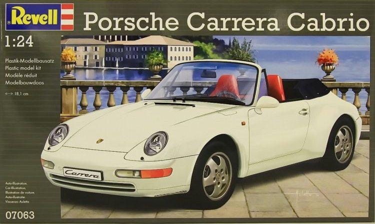 Автомобиль Porsche 911 Carrera Cabrio Revell 07063