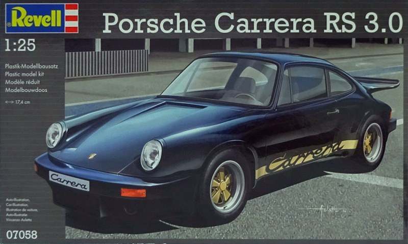 Автомобиль Porsche Carrera RS 3.0 Revell 07058