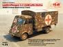 Германский армейский автомобиль Lastkraftwagen 3.5 t AHN c будкой ICM 35417 основная фотография