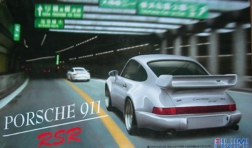 Автомобиль Porsche 911 Carrera RSR Fujimi 123110