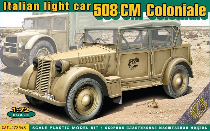 Итальянский легкий автомобиль 508 CM Coloniale Ace 72548