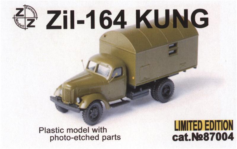 Грузовик Zil -164 Кung ZZ MODELL 87004