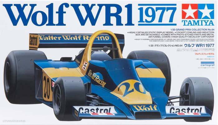 Автомобиль Wolf WR1 1977 Tamiya 20064