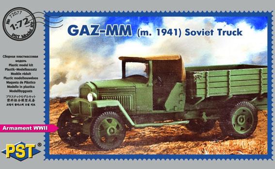 Советский грузовой автомобиль ГАЗ-MM (1941) PST 72077