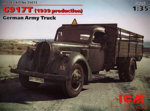 Немецкий армейский грузовик G917T (1939 production) ICM 35413