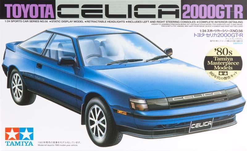 Автомобиль Toyota Celica 2000 GT-R Tamiya 24056