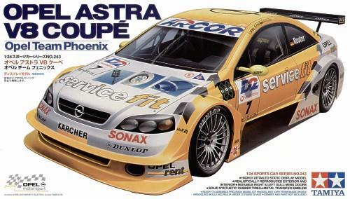 Легковой автомобиль Opel Astra V8 Coupe Phoenix Tamiya 24243