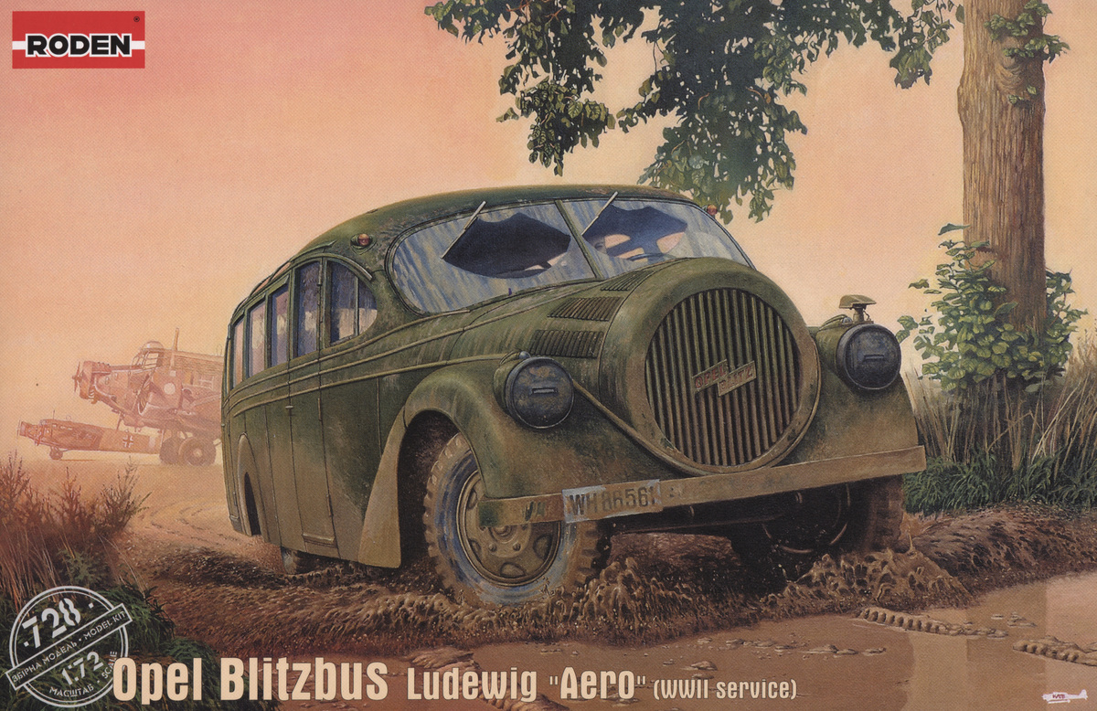 Немецкий автобус Opel Blitzbus Ludewig