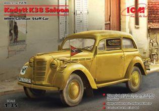 Немецкий легковой автомобиль Kadett K38 ICM 35478