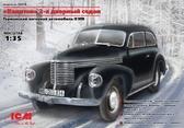 Немецкий 2-х дверный автомобиль Капитан