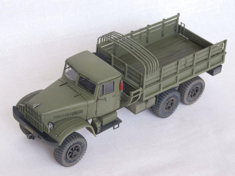 Грузовый автомобиль КрАЗ-214Б Roden 804