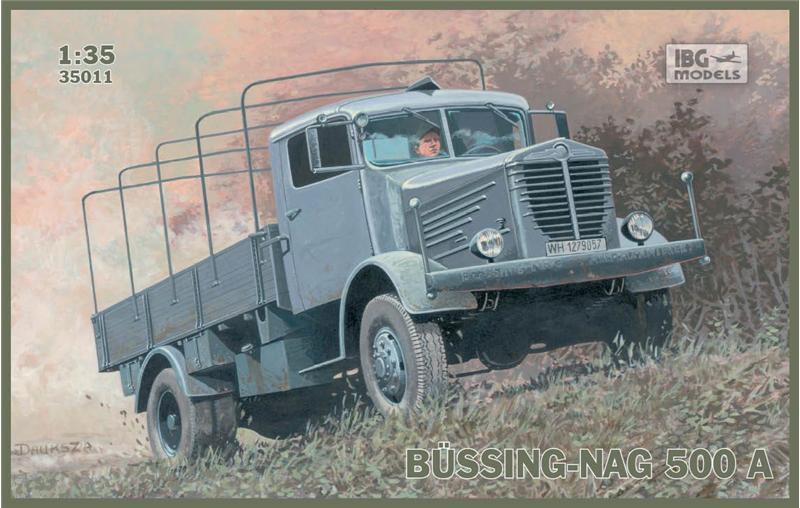 Грузовик BUSSING-NAG 500A IBG Models 35011