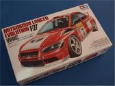 Модель автомобиля Mitsubishi Lancer Evolution VII WRC в масштабе