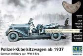 Германская военная машина Polizei-Kubelsitzwagen 1937