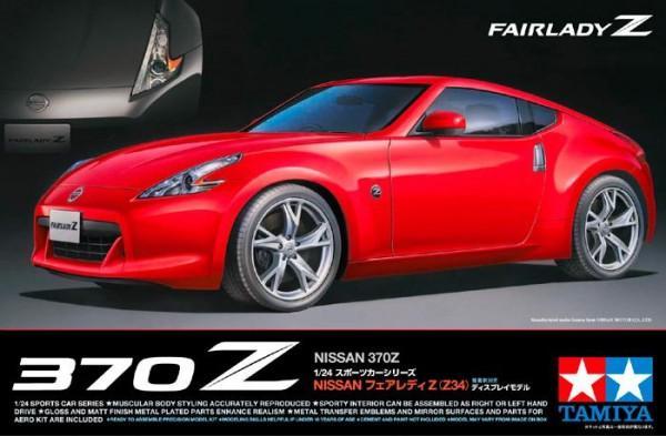 Спорткар Nissan 370Z Tamiya 24315