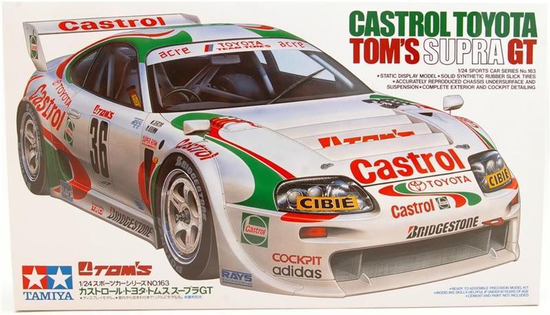 Автомобиль Toyota Supra GT Tom's Castrol Tamiya 24163