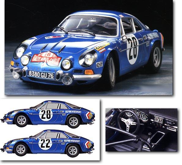 Спортивный автомобиль Alpine Renault A110 Monte-Carlo ' 71 Tamiya 24278