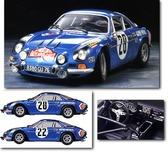 Спортивный автомобиль Alpine Renault A110 Monte-Carlo ' 71 от Tamiya