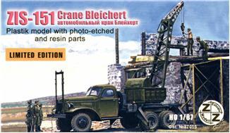 ZZ87015 ZiS-151 Crane Bleichert ZZ MODELL 87015